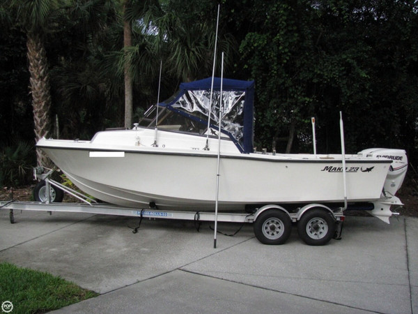 Used Mako 228 Cuddy Walkaround Fishing Boat For Sale