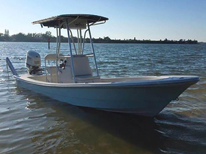 Used Andros 20 Guide Bay Boat For Sale