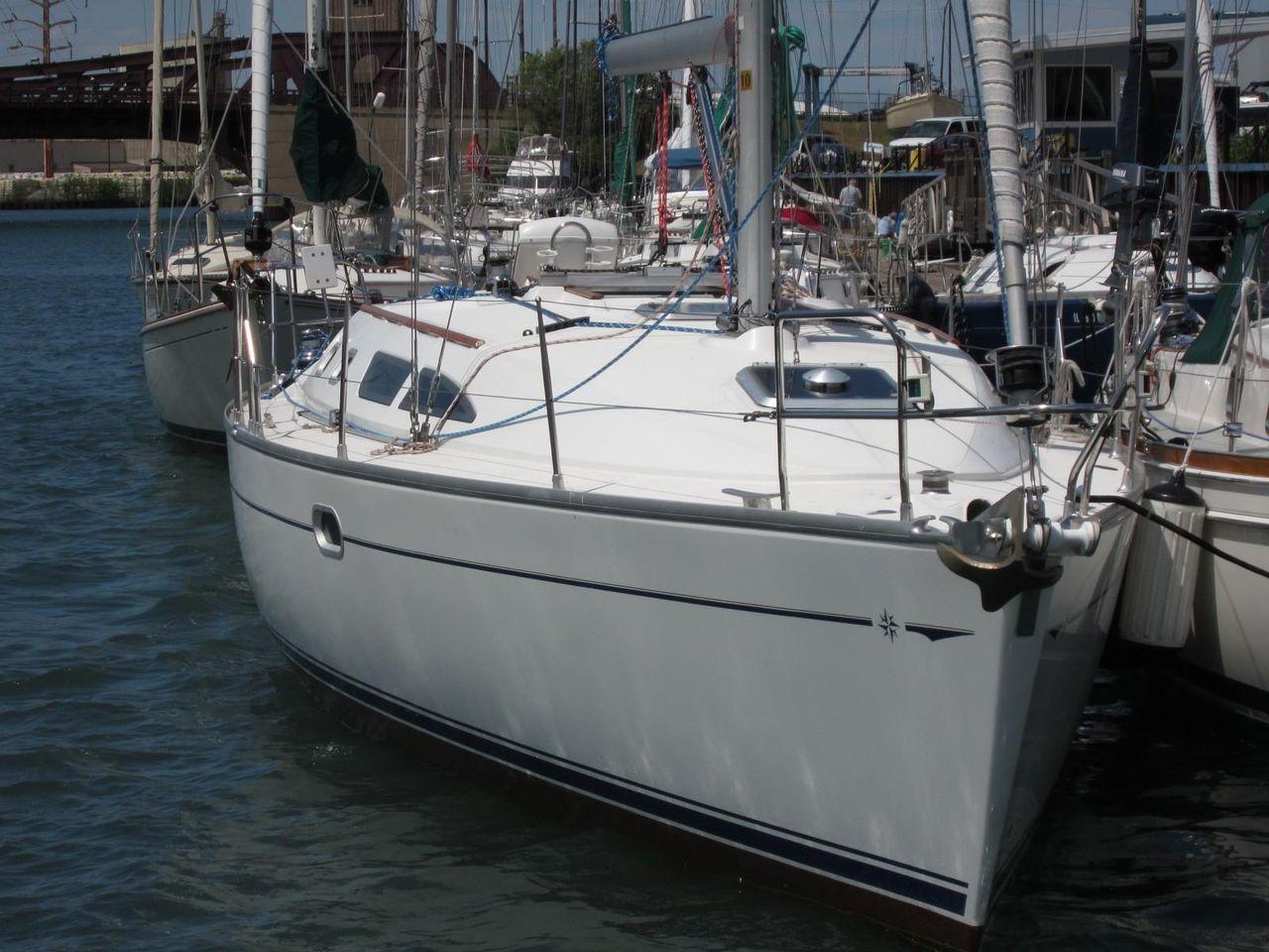 2005 Used Jeanneau Sun Odyssey 37 Cruiser Sailboat For Sale