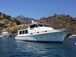 Used Vic Franck Custom Pilothouse Motoryacht Motor Yacht For Sale