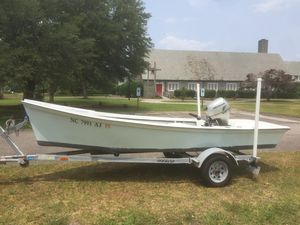 Used Kencraft 16 Classic Skiff Center Console Fishing Boat For Sale