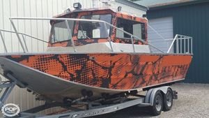 Used Duckworth 24 Magnum Aluminum Fishing Boat For Sale