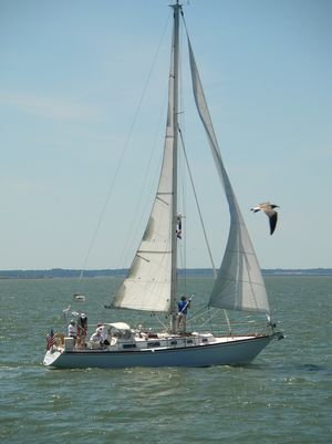 Used Bristol 38.8 Cruiser Sailboat For Sale