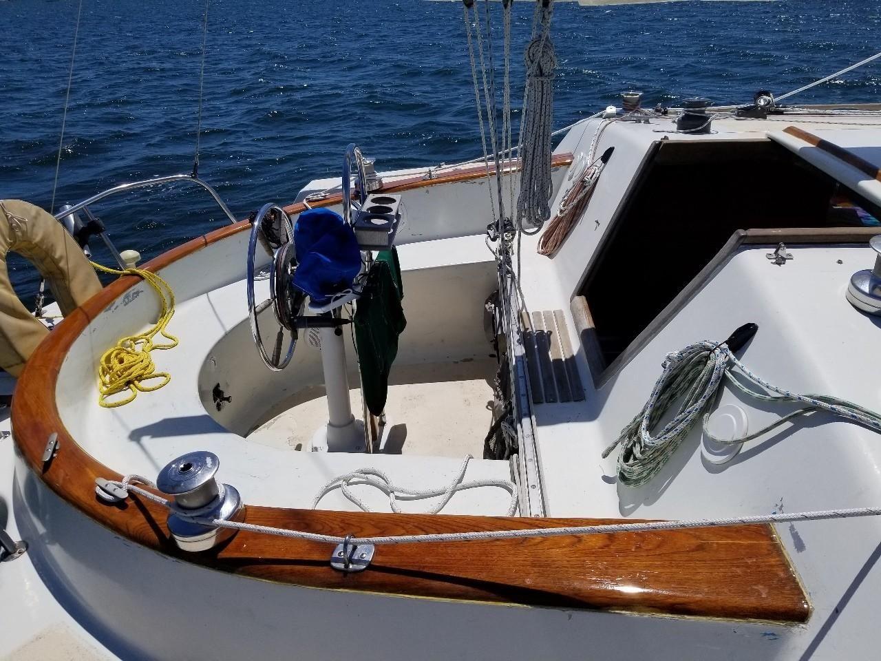 1978 Used Norman Cross 34 Trimaran Sailboat For Sale