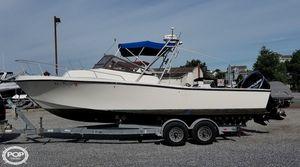 Used Mako 258 Walkaround Fishing Boat For Sale