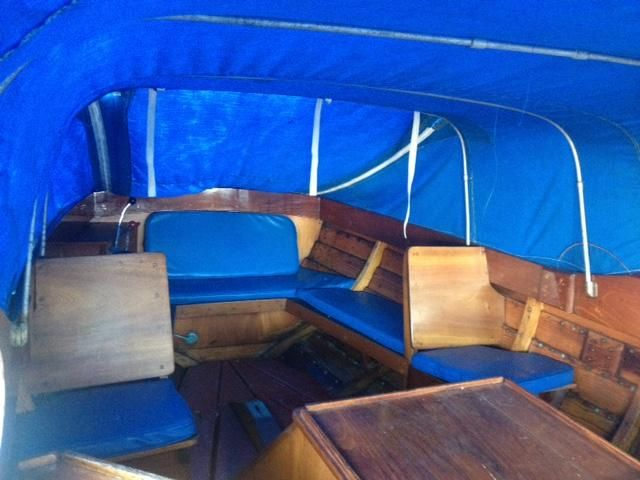 1957 Used Custom Snekke Norwegian Picnic Boat Tender Boat For Sale
