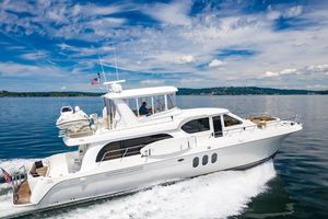 Used Navigator 6200 Pilothouse Cruiser Boat For Sale