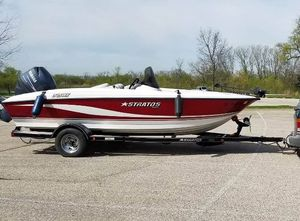 Used Stratos 375 XF Sports Fishing Boat For Sale