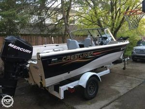 Used Crestliner 1850 Sportfish Bowrider Boat For Sale