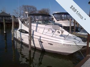 Used Carver 350 Mariner Express Cruiser Boat For Sale