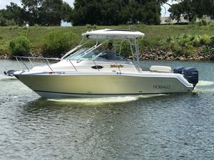 Used Robalo 265 Walk Around Sports Fishing Boat For Sale