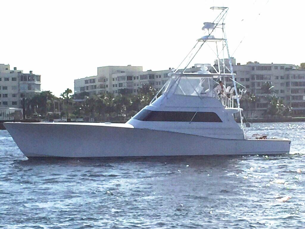 1988 used monterey custom sportfish sports fishing boat for Sport fishing boats for sale by owner