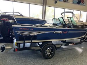 New Alumacraft Voyageur 175 Sport And Dual Console Windshield Freshwater Fishing Boat For Sale