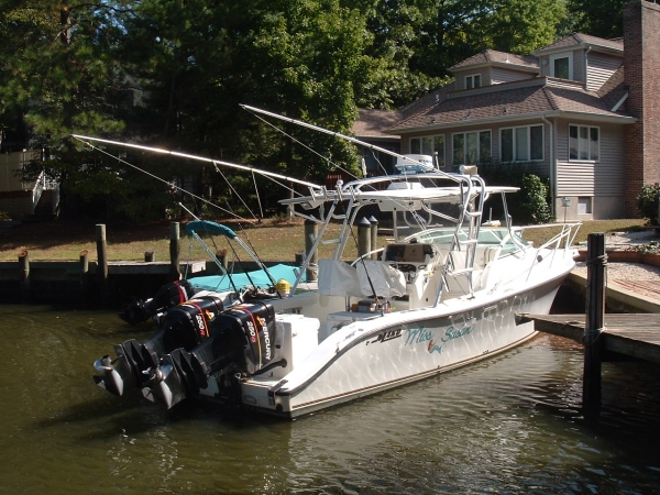 Used Mako 333 Attack Sports Fishing Boat For Sale