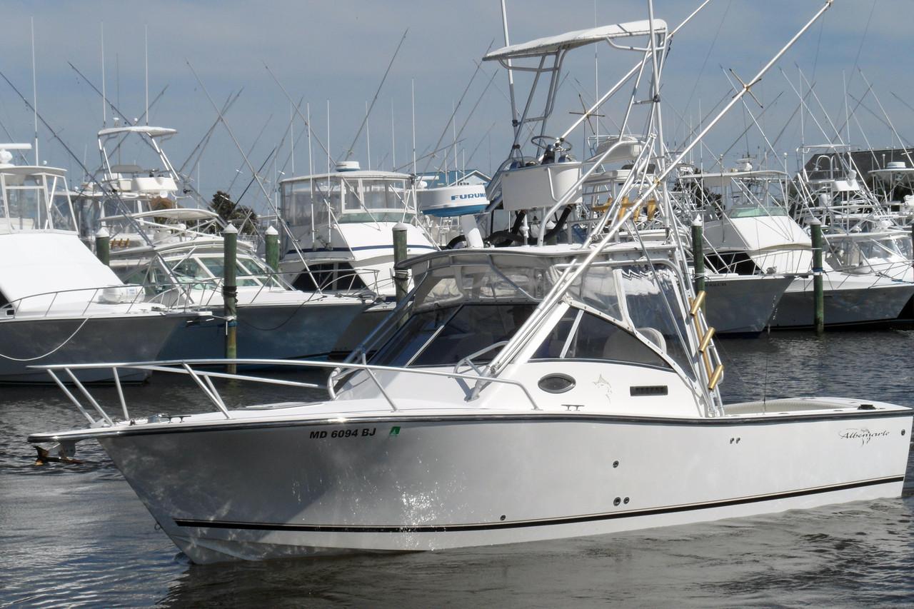 2000 used albemarle 285 express fisherman sports fishing for Express fishing boats