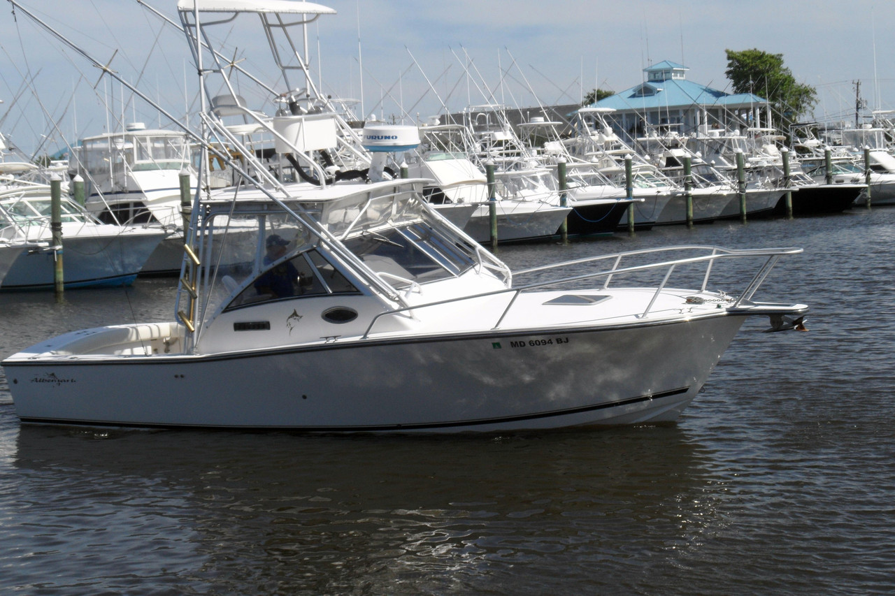 2000 used albemarle 285 express fisherman sports fishing for Express fishing boats for sale