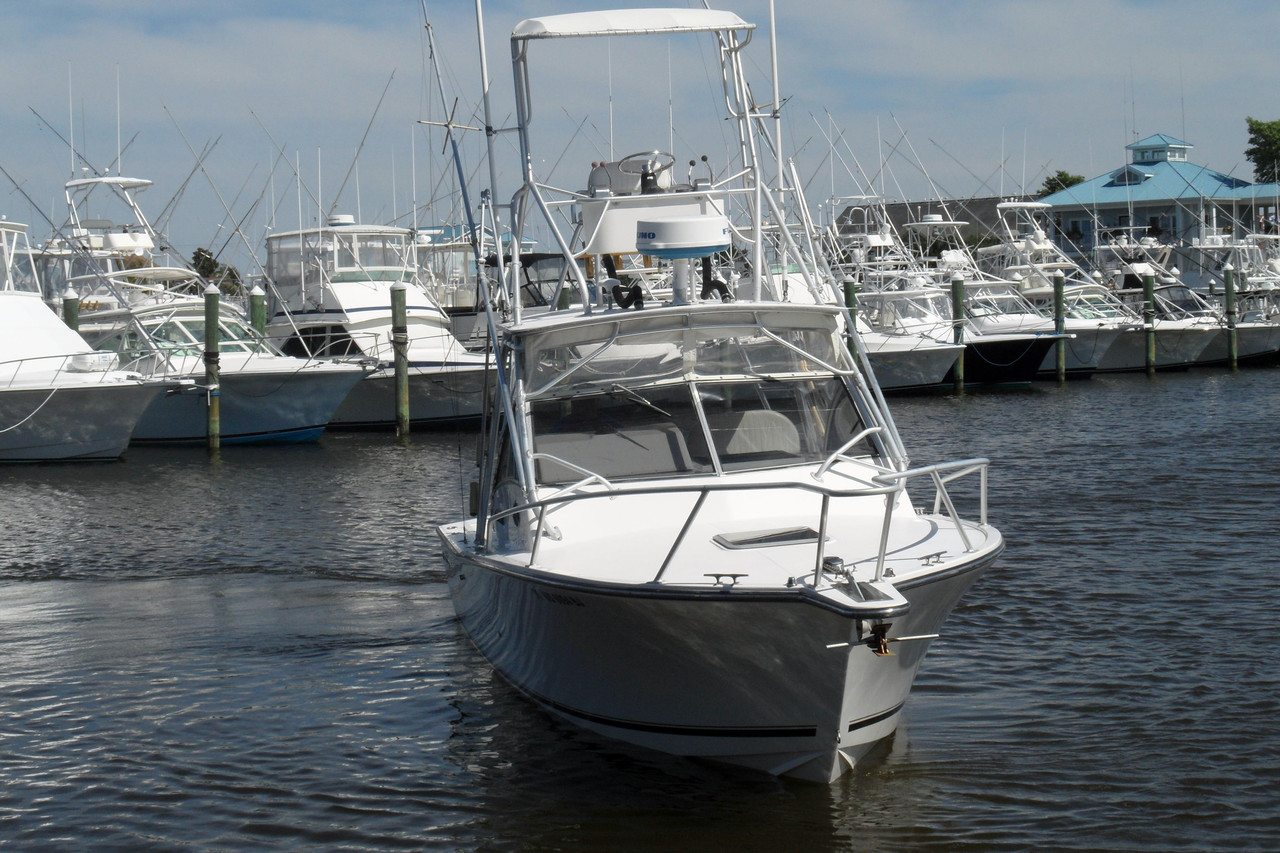 2000 used albemarle 285 express fisherman sports fishing for Used fishing boats for sale in md