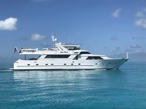 Used Broward Custom Extended Motor Yacht For Sale