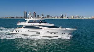 Used Horizon Flybridge Motor Yacht Flybridge Boat For Sale