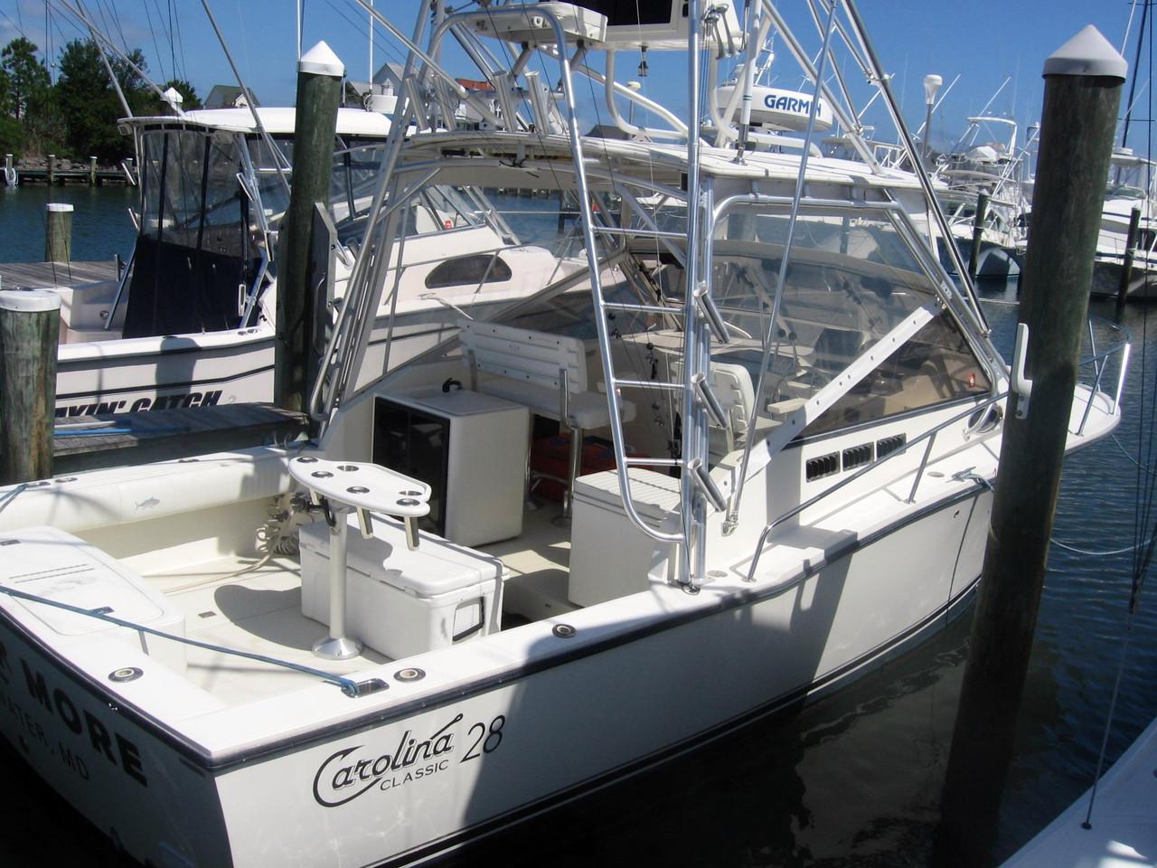 2003 used carolina classic 28 sports fishing boat for sale for Used fishing boats for sale in md