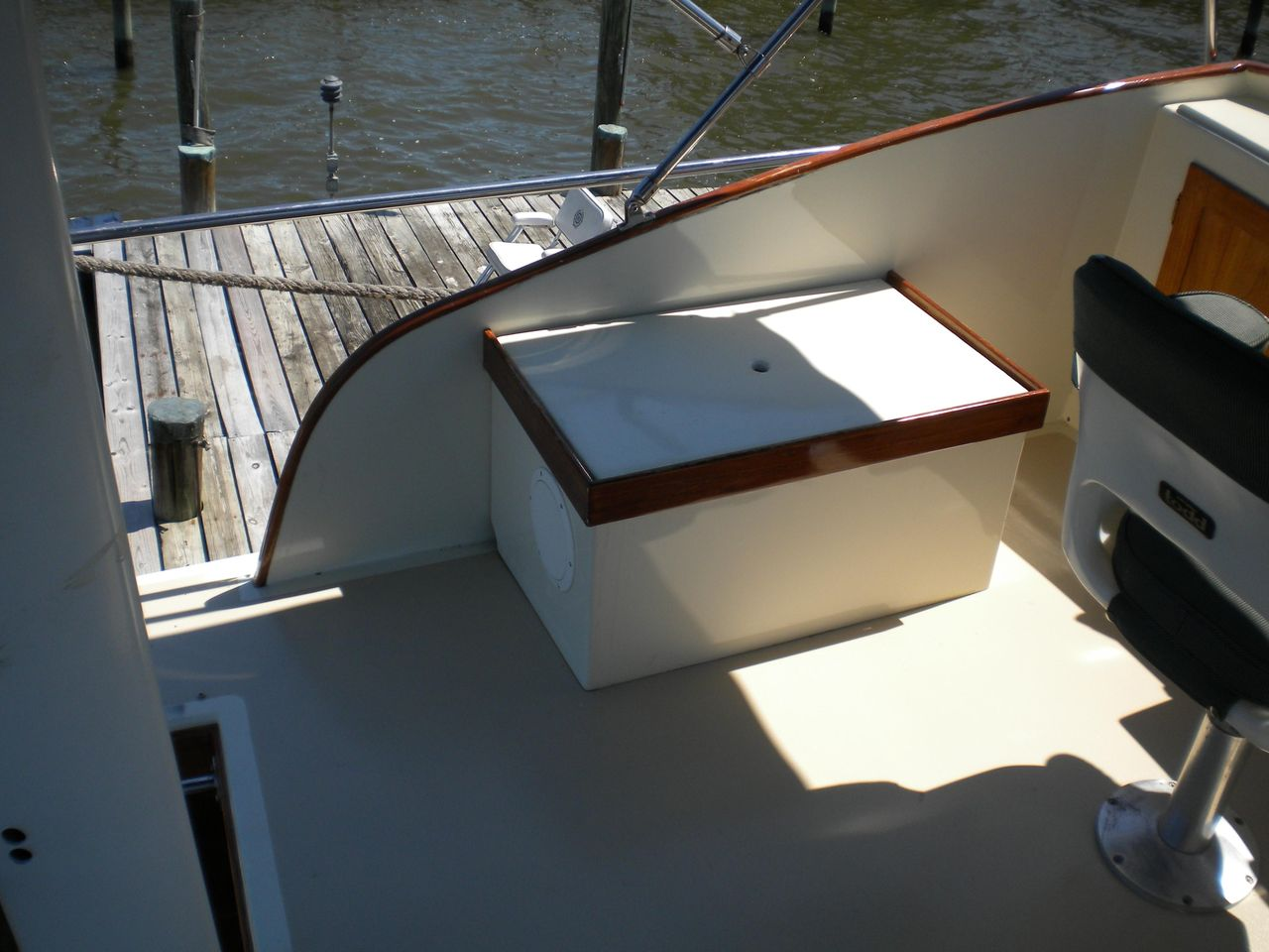 1978 Used Jarvis Newman 36 Flybridge Commercial Boat For