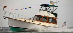Used Jarvis Newman 36 Flybridge Commercial Boat For Sale