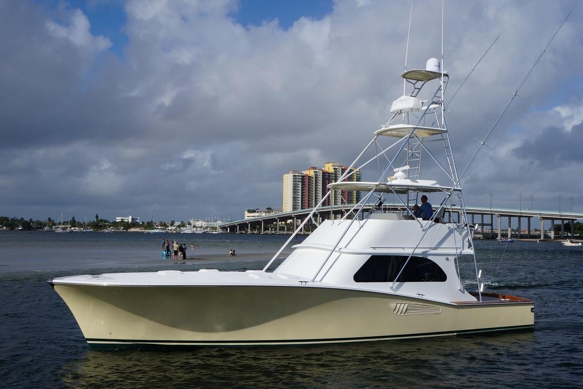 2005 used vicem custom convertible sportfish convertible for Fishing yachts for sale