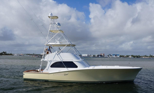 Used Vicem Custom Convertible Sportfish Convertible Fishing Boat For Sale
