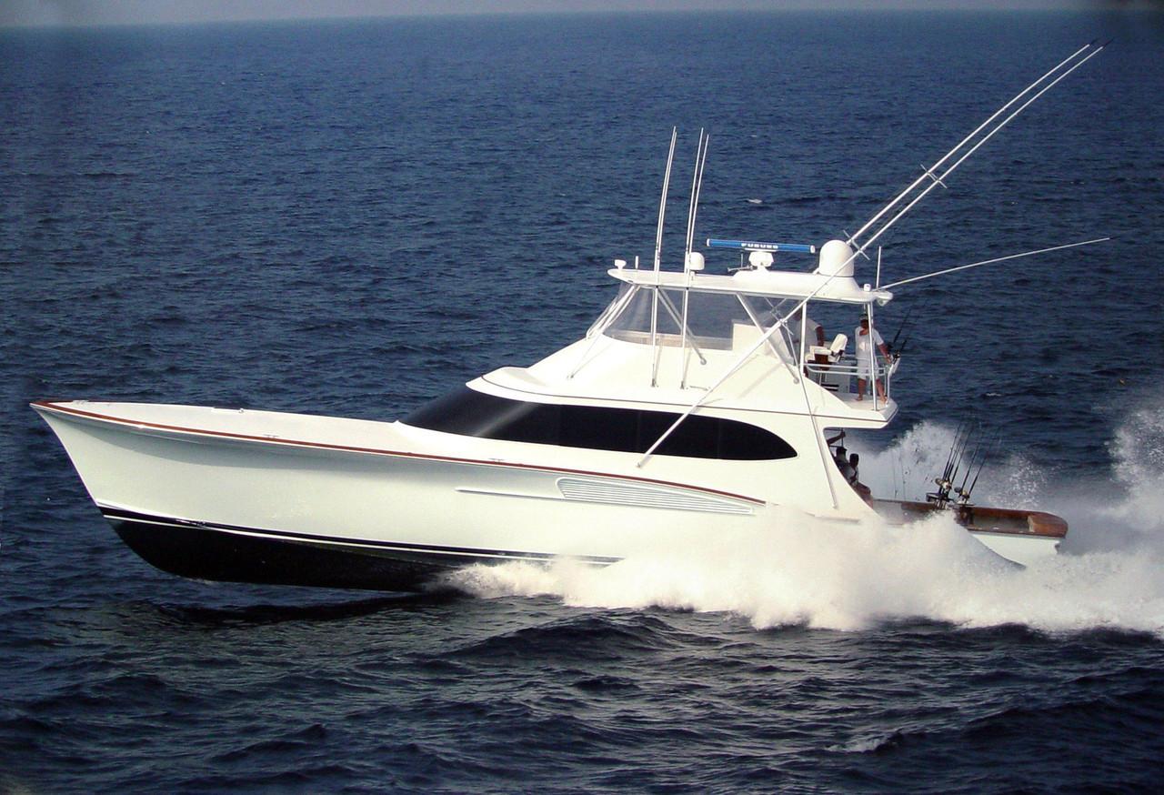 2006 used caison custom sportfish sports fishing boat for for Custom fishing boats