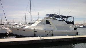 Used Meridian 490 Pilothouse Flybridge Boat For Sale