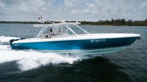 Used Intrepid 400 Center Console Saltwater Fishing Boat For Sale