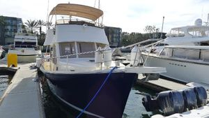 Used Mainship 34 Trawler Flybridge Boat For Sale