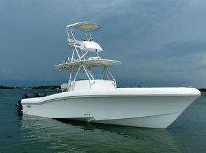 Used Yamaha Boats Typhoon 33 Open Center Console Fishing Boat For Sale