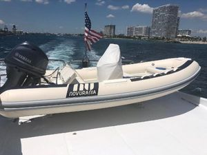 Used Novurania 430 DL Inflatable Boat For Sale