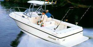 Used Shamrock 246 Walkaround Center Console Fishing Boat For Sale