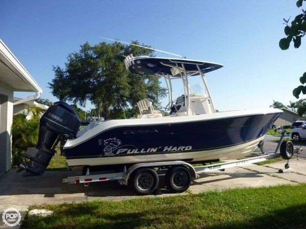 Used Cobia 237CC Center Console Fishing Boat For Sale