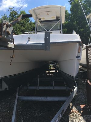Used Manta 24 Center Console Power Catamaran Boat For Sale