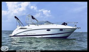 Used Maxum 2700 Sport Cruiser Express Cruiser Boat For Sale