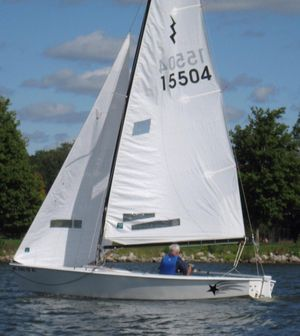 Used One Design Lightning Class / Nickels Boat Works Daysailer Sailboat For Sale