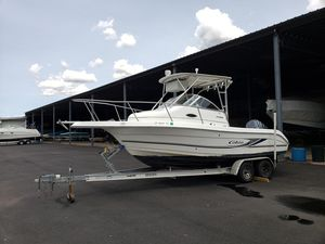 Used Cobia 230 Walk-around Center Console Fishing Boat For Sale