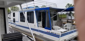 Used Catamaran Cruisers House Boat For Sale
