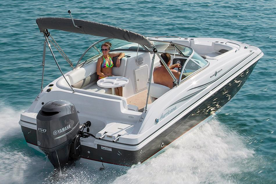 2016 new hurricane sundeck 187 ob deck boat for sale for Hurricane sundeck for sale