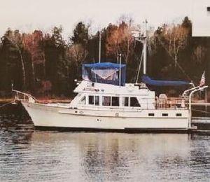 Used Island Gypsy 44 Trawler Boat For Sale
