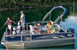 Used G3 Suncatcher LV 168 Fish & Cruise Pontoon Boat For Sale