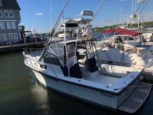 Used Rampage 28 Sportsman Downeast Fishing Boat For Sale