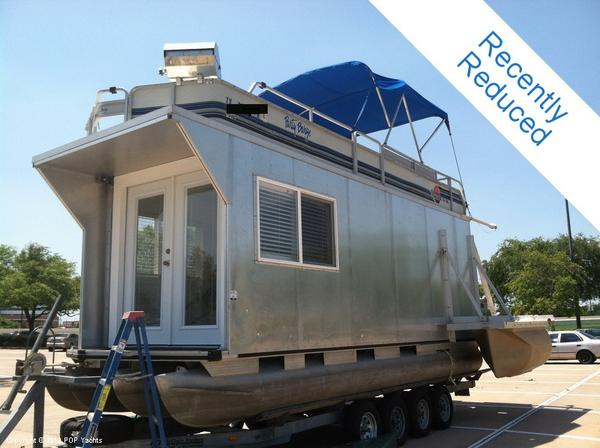 Used Tracker 24 Custom Houseboat House Boat For Sale