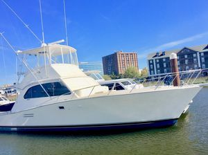 Used Post 43 Flybridge Cummins Commonrail Power Convertible Fishing Boat For Sale