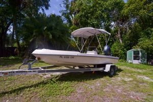 Used Action Craft 1720 Saltwater Fishing Boat For Sale