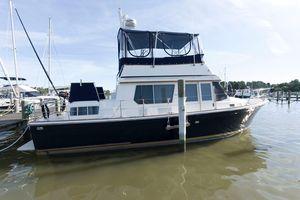 Used Sabreline 36 Aft Cabin Flybridge Trawler Boat For Sale