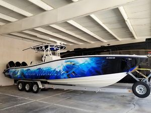 Used Yellowfin 36 (recent Upgrades) Center Console Fishing Boat For Sale